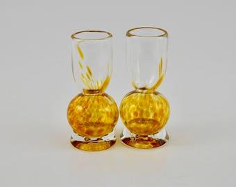 Hand Blown Art Glass - Shot Glass