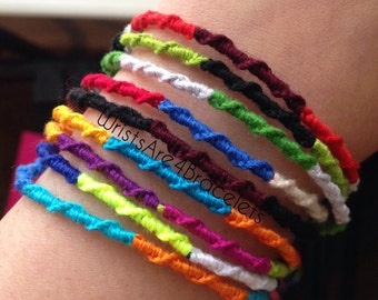 WHOLESALE Chinese Staircase Style Friendship Bracelets