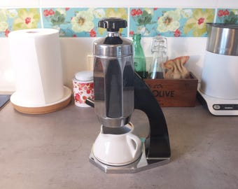 Rare Vintage Soviet Coffee Espresso Maker Machine 60s Atomic Space Age