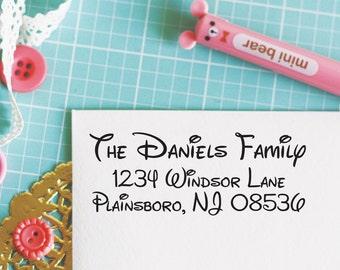 Custom Personalized Address Stamp - WALT Style