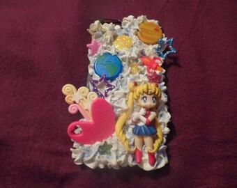 Kawaii Cute Decoden Sailor Moon Style I6s Phone Case