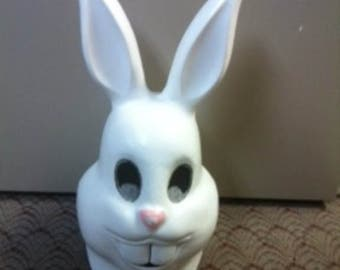 Bunny Mascot Head Form for you to Paint, Glue Fur, Decorate, Complete
