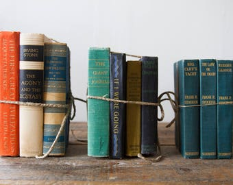 Vintage Book Bundles - SOLD SEPARATELY