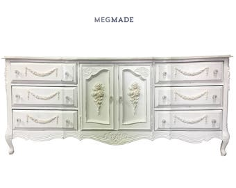 Customizable French Provencal Buffet Dresser | 1331-02662