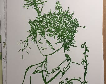 Dryad - screenprint