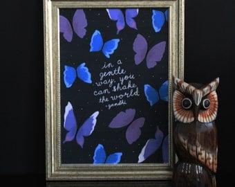 Print 'Butterflies'