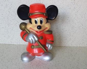 Knickerbocker Mickey Mouse Bank WDP