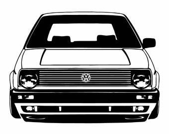 MK2 - big bumper front ends