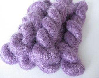 Pure Luxury Mohair, Lilac colour, 100% Mohair