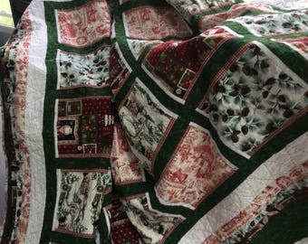 Christmas Quilt for Full/Queen