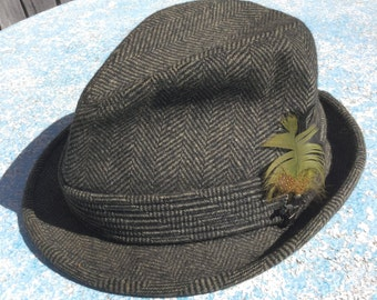 Vintage Fedora All Weather Hat Lancashire