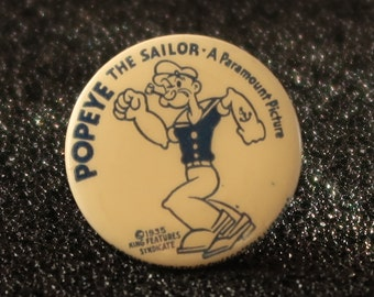 Vintage Popeye The Sailor pin