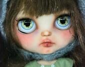 Maika. OOAK Custom Blythe doll.