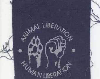 Animal Liberation Human Liberation Patch