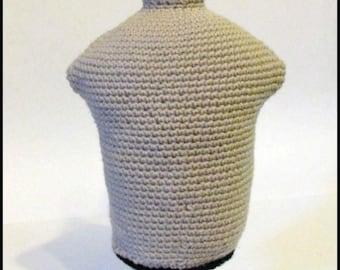 Baby Mannequin Torso, Crochet Torso Mannequin, crochet mannequin, 6mo dress form, baby dress form