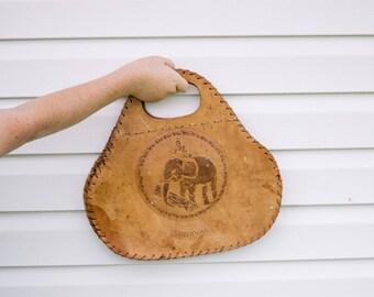 Vintage Sir Lanka Leather Handbag