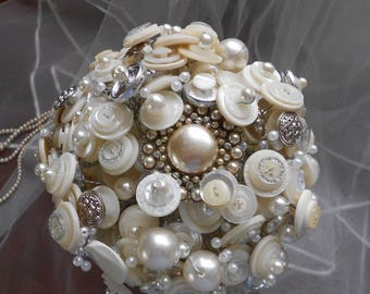 Moonshine Button Bouquet