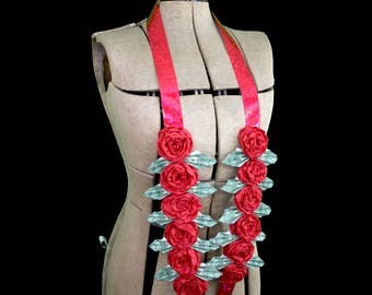Money Rose Lei for Graduation Gift / Wedding - Customize Colors