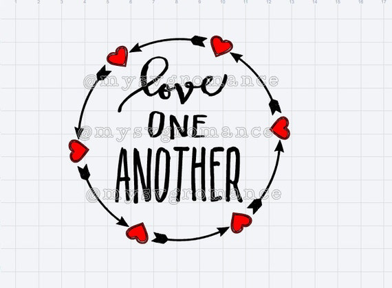 1633+ Love One Another Svg File for Free