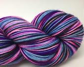 Self striping sock yarn- Whut in Tarnation - pink version