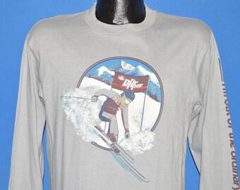 80s Dr Pepper Slalom Skiing t-shirt Medium
