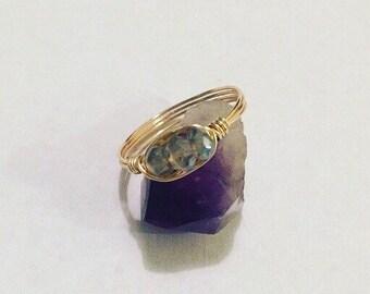 Labradorite Ring / Made to Order