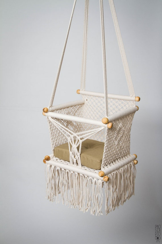 patio chair swing relaxing hammock home rope macrame cotton s hanging garden itm