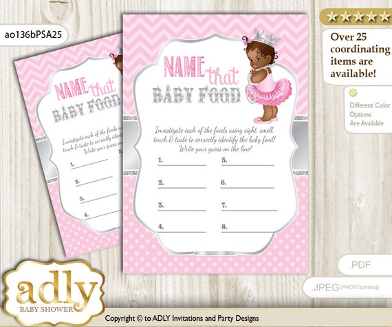 Items Similar To African Princess Name That Food, Baby