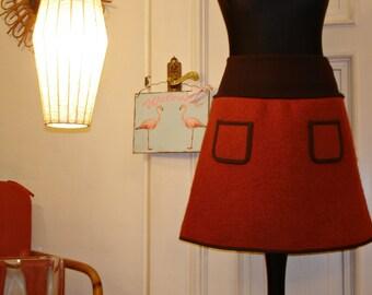 Walking rock terracotta women ladies rock winter rock winter wool skirt skirt wool skirt
