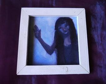 Oil Painting - 'Play' (framed) Rebecca Deegan