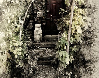 Old Church Door.