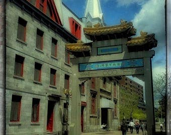 Chinatown Montreal Quebec