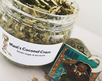 Maui's Coconut Craze Sugar & Tea Scrub - CLEARANCE