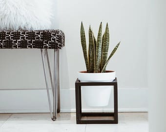 Hex Planter/ Cube Planter / Planter Stand