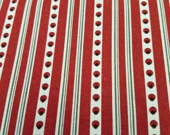 French General Moda Fabric Joyeux Noel Fabric One Yard Cut / Half Yard Cut Sale.