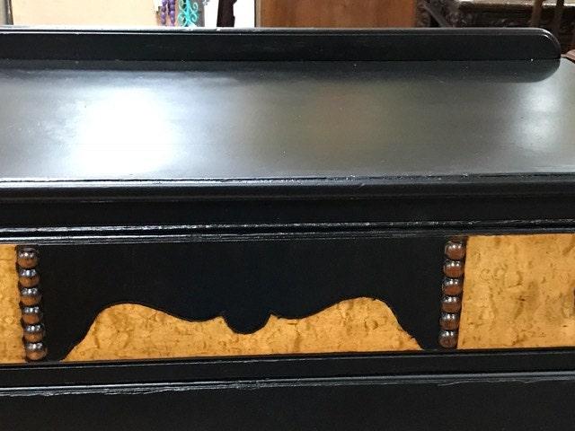 Black tall Dresser Rockford Cabinet Co.