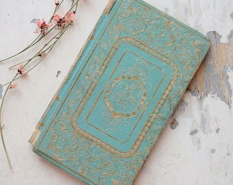 Antique French Romantic Book