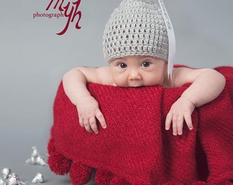 Crochet Hershey kiss hat/ Valentine's day hat/ Hershey kiss crochet/photo prop