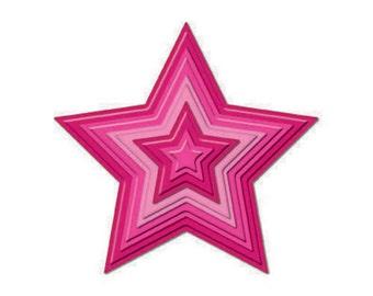 Spellbinders Nestabilities STARS Cutting DIES S4-092 1.cc03