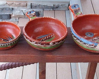 VIntage Mexican Pottery, 1940's-1950's