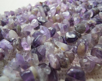 4-12mm Amethyst Chip Beads S273