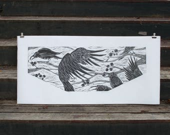 Ravens Print