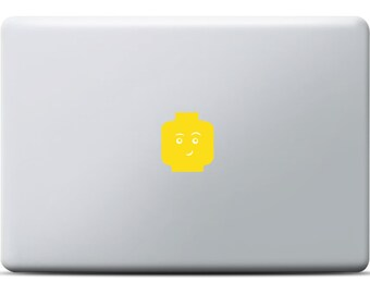 Lego Head Sticker MacBook Pro / MacBook Air