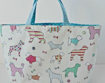 Dogs Bucket Bag