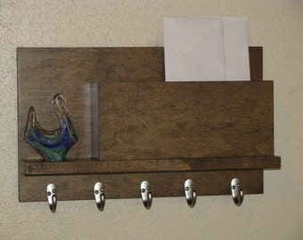 Wall Organizer Mail and Key Holder