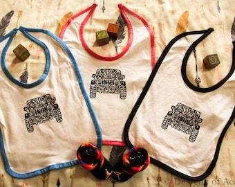 JEEP  (Infant) Tribal Tattoo Rabbit Skins Infant Bib