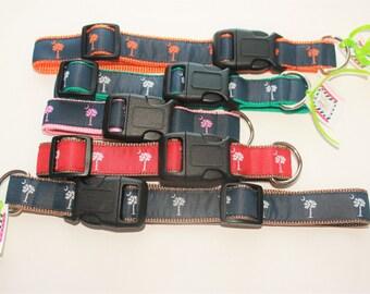 SC Flag Dog Collar- Multiple Color Options-Leash Available