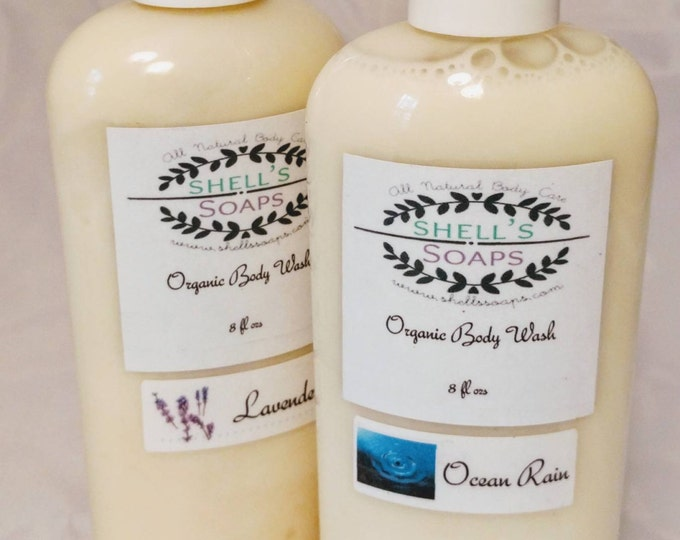 Organic Coconut Oil Body Wash
