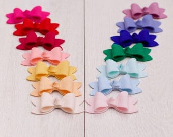 Medium felt bows Heabands (Choose 2)