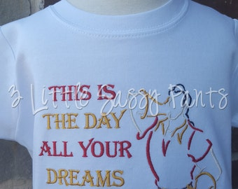 This is the Day All Your Dreams Come True Shirt- Boys Beauty and the Beast Shirt- Custom Disney Vacation Shirt- Gaston Shirt-